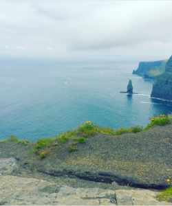 Alissa 1 - cliffs of moher