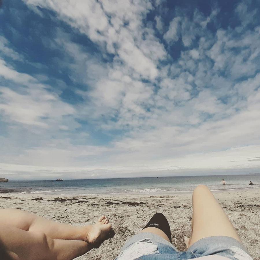Emmeline_MU Blogger_at the beach